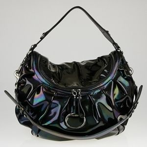 "Gucci Icon Bit Bag ""Oil Slick"" large"